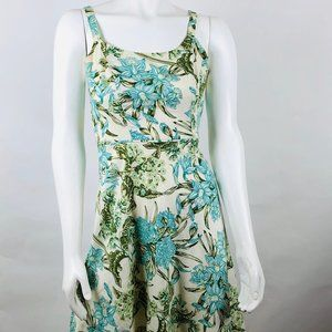 Ann Taylor LOFT Floral Dress Sz 0P